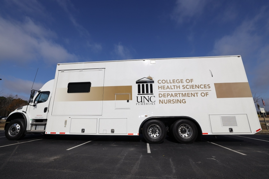 UNCP Mobile Vaccine Clinic coming to Red Springs, Fairmont