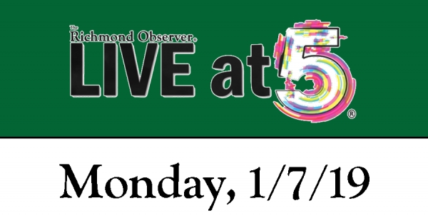 LIVE at 5 (Monday, 1/7/19)