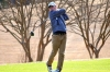 Sophomore Jonathan Rich takes a shot during a practice round last Thursday at Foxfire.