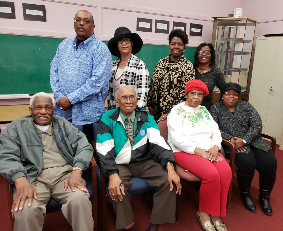 The Richmond County Martin Luther King Jr. Celebration Foundation Committee poses for a photo prior to releasing its schedule of events to honor the fallen civil rights hero.