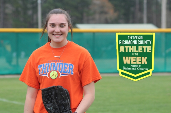 Paige Ransom has been named the Official Richmond County Female Athlete of the Week.