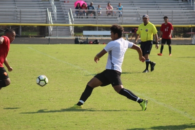 Rising senior Jose Fonseca scored a goal in Richmond's 1-0 win over Red Springs Saturday.