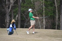 Sophomore Jonathan Rich led Richmond with a career-best 77 (+5) on Monday.