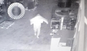 Hamlet Police released video Tuesday of a suspect reportedly breaking into FerroFab earlier this month. See the video with this post on the RO's Facebook page.