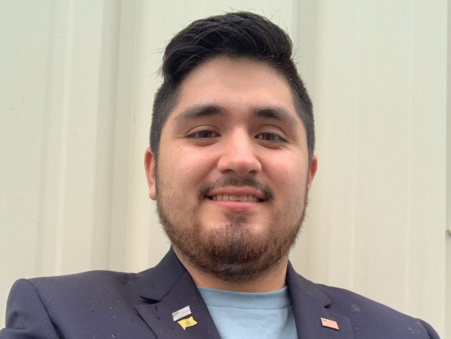Joshua Flores, 23, announced Friday that he plans to run for the N.C. House of Representatives.