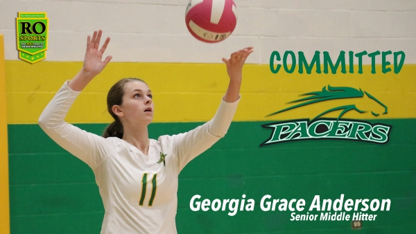 Richmond's Georgia Grace Anderson verbally committed to William Peace University on Friday.