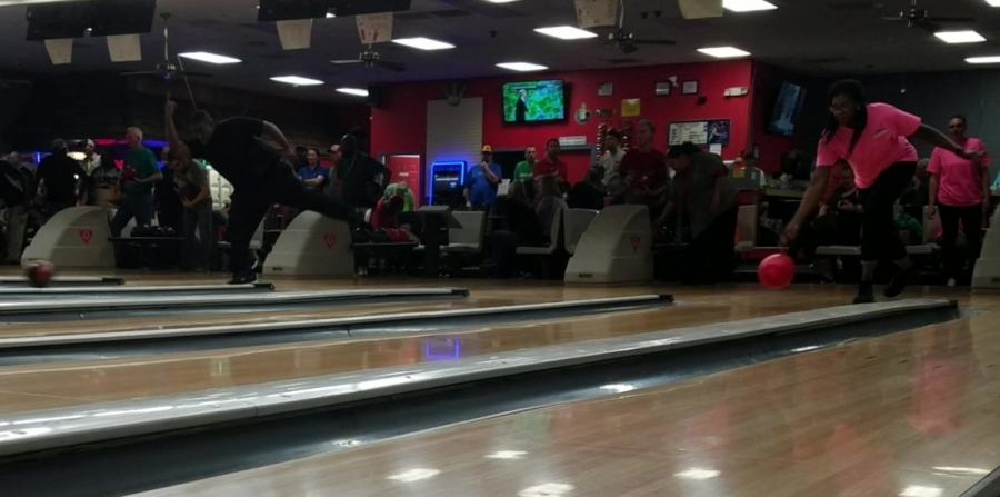 Fifteen teams participated in a bowling tournament Monday night to support Richmond County Special Olympics.