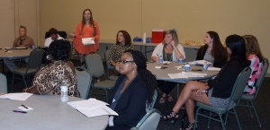 "Several local business owners attended the ""Branding Basics"" seminar at RCC Thursday."