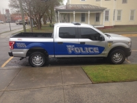 Hamlet Police Department Vehicle