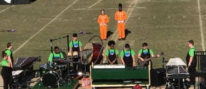 "Richmond Senior High School Marching Band Receives ""Excellent"" Rating at Pinecrest Competition"