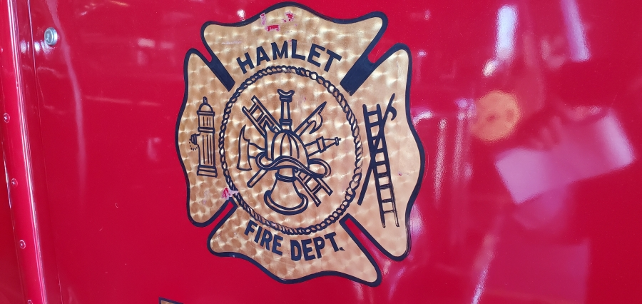 Property damaged in weekend fires south of Hamlet