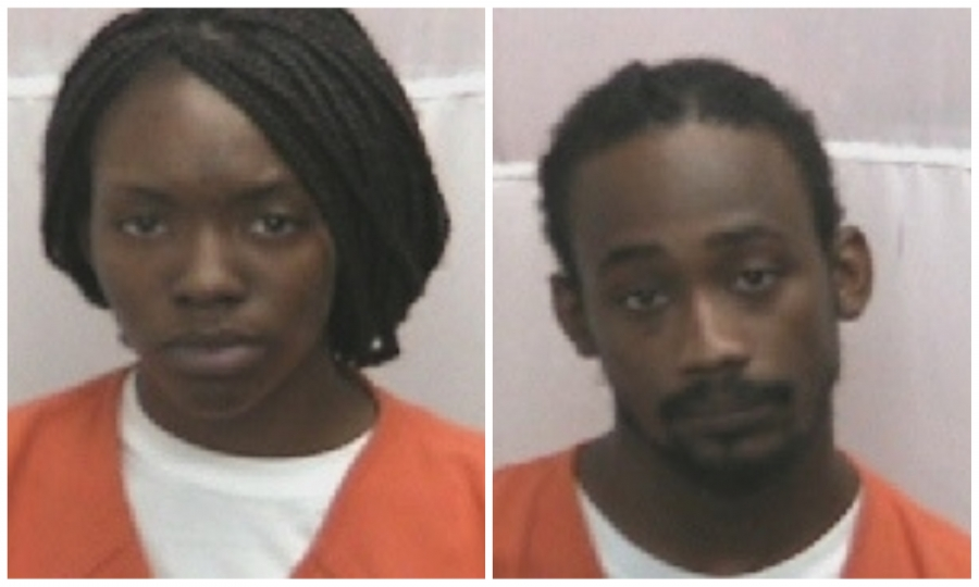 19-year-old Traniya Lanae Brower and 28-year-old Dominque Rasheen Powell are charged in connection to the Monday night shooting death of Rico Shelton.