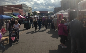 Seaboard Festival 2017 on Main Street in Hamlet.