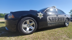 Richmond County deputy OK after hitting deer