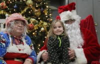 Santa and Mrs. Claus were just part of Ellerbe's Hometown Christmas celebration Friday evening.