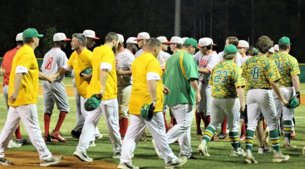 The No. 2 Raiders fell 6-5 to No. 6 Hoke County in the SAC tournament semifinals on Wednesday.