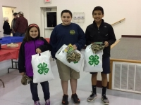 Youth Winners of Wild Game Cook-Off: 1st Place: Hailey Belk & Jase Childers; 2nd Place: Ben Deoguilar