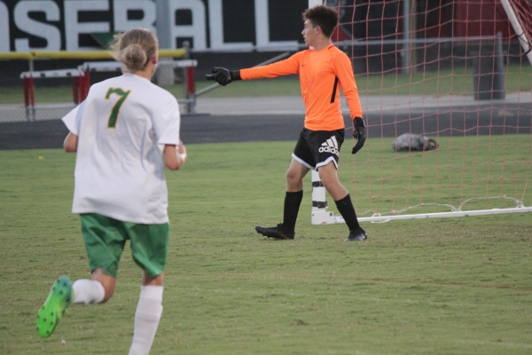 ROSports File Photo: Richmond allowed four second-half goals in Thursday's loss to Terry Sanford.