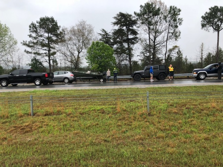 Saturday, April 7th Accident on HW 74 West By-Pass, Rockingham