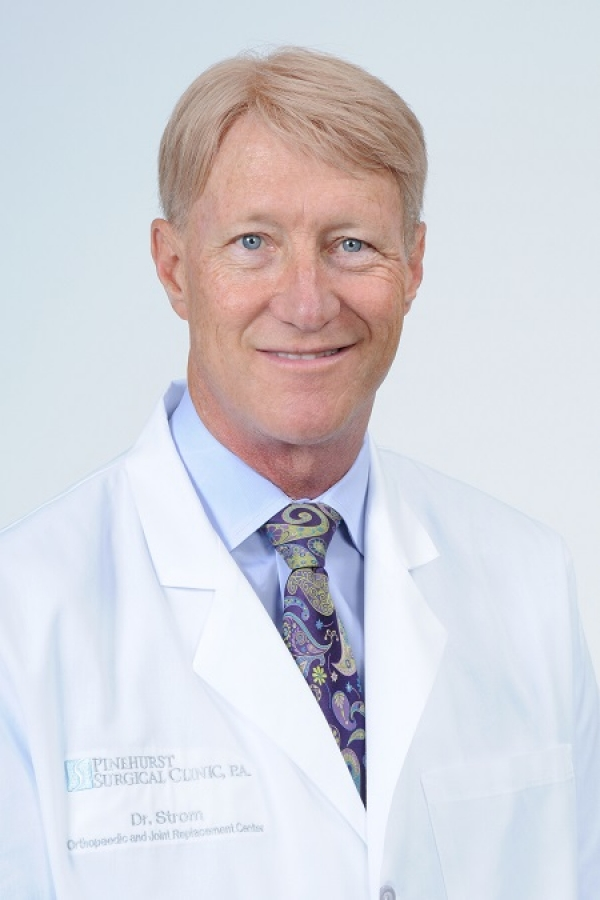 Dr. David Strom, orthopaedic surgeon and medical director of FirstHealth Wound Care & Hyperbarics.