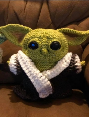 Richmond County Animal Advocates auctioning 'Baby Yoda'