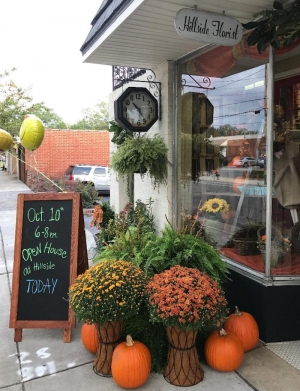 Hillside Florist, which offers flowers for all occasions, held an open house Tuesday.