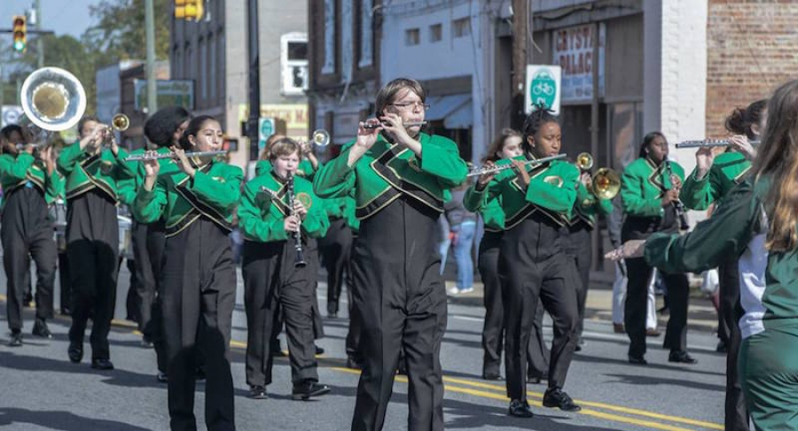 The RSHS Marching Raiders are in need of community support and sponsors for the 59th annual Conway Christmas Parade.