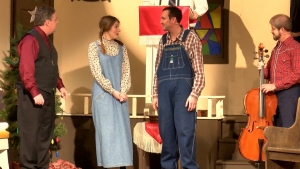 "The musical ""Sanders Family Christmas"" opened Thursday at Richmond Community Theatre and will continue through the weekend, with shows next Friday and Saturday."