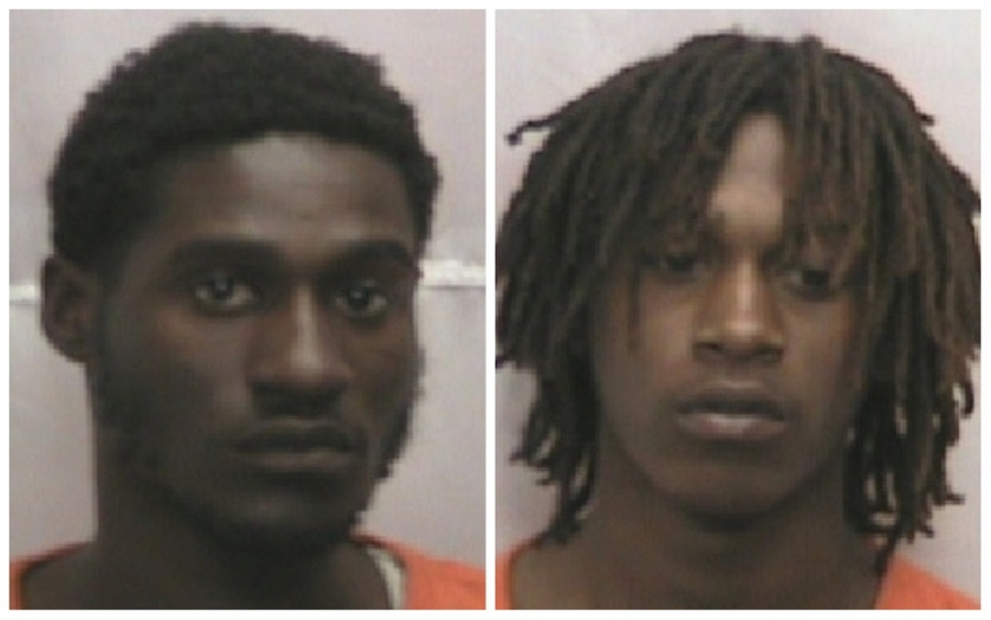 Terek Ross, left, and Justin Baldwin are charged in a rape on April 23 and an assault and robbery on April 16.