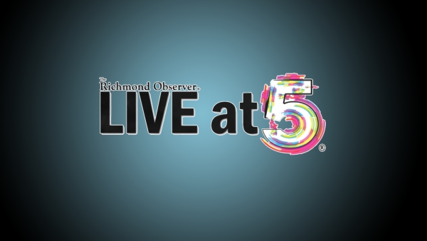 LIVE at  5 (Friday, 10/9/20)