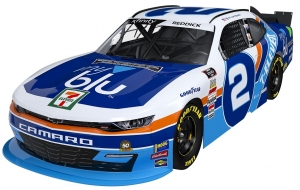 Richard Childress Racing to honor NASCAR icon Kyle Petty's historic 7-Eleven scheme with the No. 2 myblu Chevrolet as part of NASCAR's Throwback Weekend at Darlington Raceway
