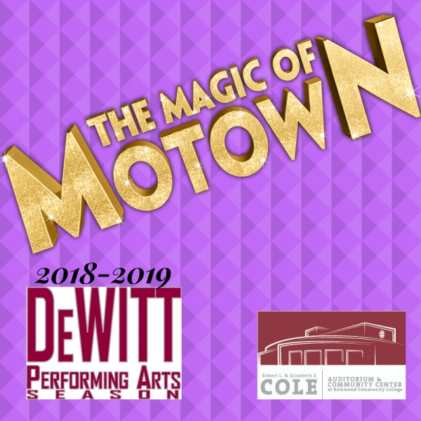 'Magic of Motown' Coming to Cole Auditorium on Jan. 22