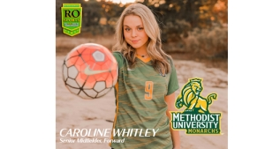 Whitley overcomes injury, commits to Methodist soccer