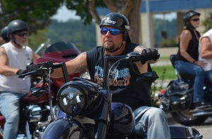 Motorcycle riders raising money for Richmond County Hospice