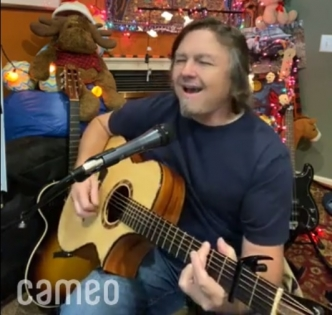 "Singer/Songwriter Edwin McCain performs ""See Off This Mountain,"" from his 1999 album ""Messenger"" in a Cameo video for the family of the late Don Paul."