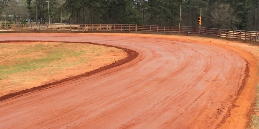 The track is ready for the fall 2017 lawnmower racing season at Ellerbe Lions Club Park.