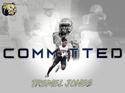 COMMITTED: Jones to join Wingate Bulldogs on full ride