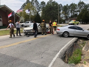 Two Vehicle Accident on Mill Road