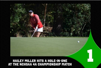 Top Sports Stories No. 1: Miller hits first career hole-in-one at 4A golf state championship