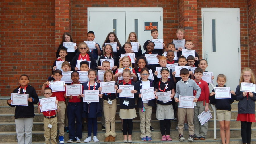 A & A/B Honor Roll at Fairview Heights Elementary School