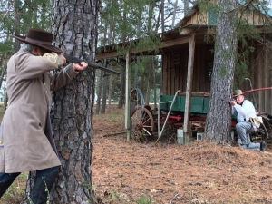 Storyteller J.A. Bolton will recount the story of the Lowry Gang of Robeson County during the Richmond County Historical Society's meeting Feb. 18.