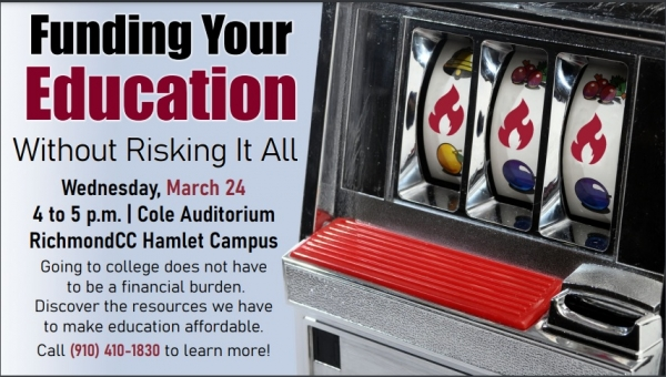 RichmondCC to host free event about 'Funding Your Education'