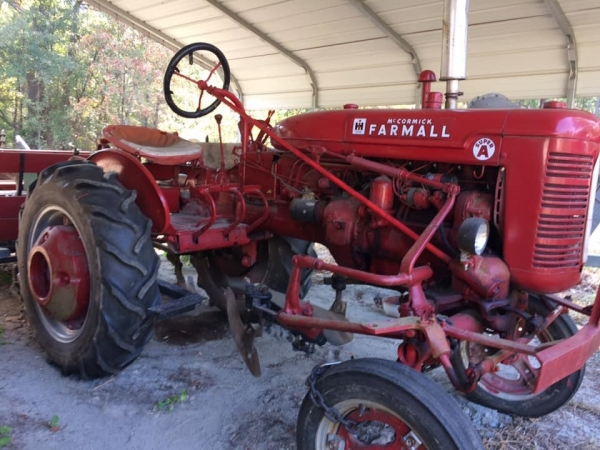 COLUMN: My own little red tractor