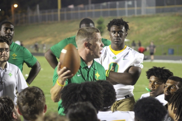 Richmond head football coach Bryan Till discusses his team's shortened bye week due to Hurricane Florence.