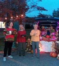 First Baptist's Trunk or Treat Attracts Hundreds for Halloween in Hamlet