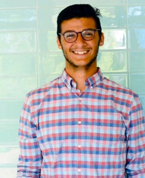 Richmond Community College graduate Abdelaziz Aldeek completed a degree in Business Administration in December, but he has returned to RichmondCC this spring semester to work on a degree in Accounting & Finance.