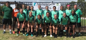 The Richmond FC Revolution Ladies soccer team in Myrtle Beach, S.C, this weekend.