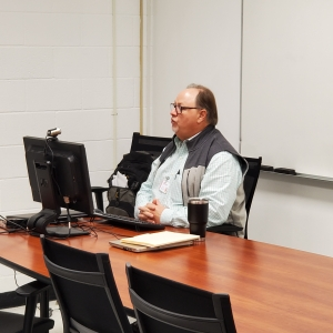 Butch Farrah, director of Richmond Community College's Small Business Center, says he has seen an increase in participation with small business seminars that have been changed to an online format.