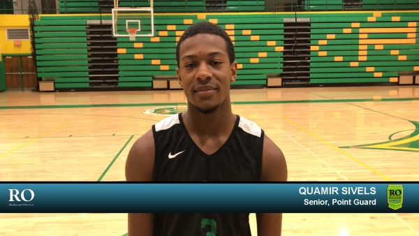 Senior point guard Quamir Sivels was one of four Raider basketball players to join ROSports to talk about the upcoming season.