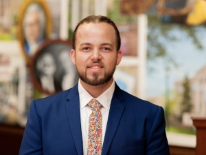 UNCP alumnus Harley Locklear admitted to counseling doctoral program at N.C. State University